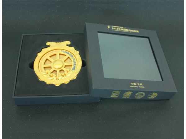兰州马拉松奖牌礼盒