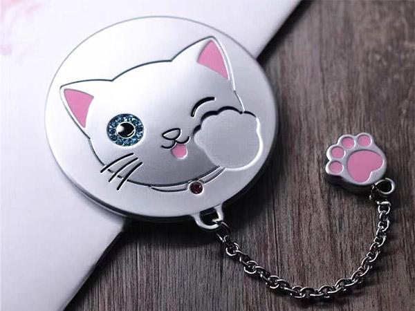 创意猫爪化妆镜定制