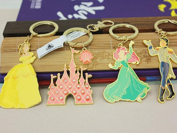 迪士尼人物钥匙扣